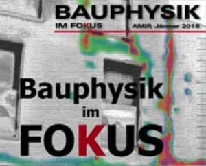 Bauphysik im Fokus - AMiP Firmenzeitschrift