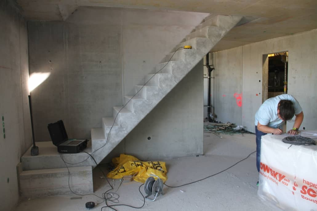 Schallschutzmessung Baustelle