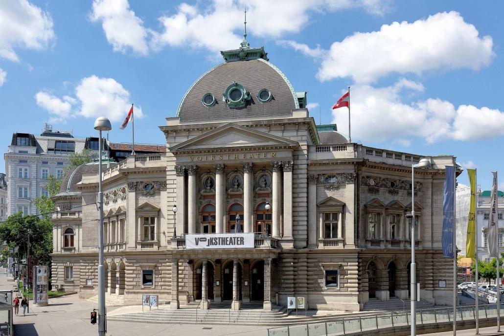 Volkstheater Beweissicherung vor Baubeginn im Innenbereich, Erschütterungsmessung und Überwachung während der Bautätigkeit